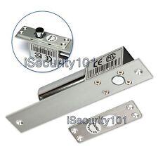 Electric Deadbolt Drop Bolt NC Door Lock Magnetic Induction Home Access Control