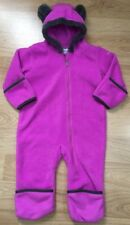 Columbia Baby Snowsuit Bunting Size 12-18 Months Teddy Bear Ears Pink