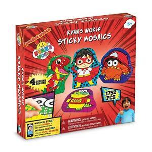 RYAN'S WORLD Sticky Mosaics Kids Creative Playset