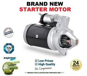 Brand New STARTER MOTOR for FORD FOCUS III 1.6 TDCi ECOnetic 2012->on