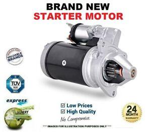 Brand New STARTER MOTOR for FIAT DOBLO MPV 1.4 2005->on