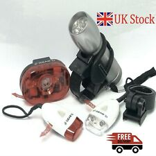 Bicycle Light Set 9 LED Front & Rear Light + FREE Micro Lights for Added Safety