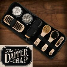 The Dapper Chap 8pcs Buff & Shine Shoe Polishing Gift Kit