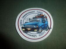 vecchio adesivo anni '80 LANCIA AUTOBIANCHI Y10 Y