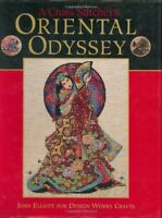 A Cross Stitcher's Oriental Odyssey By Joan Elliott,Design Works Crafts