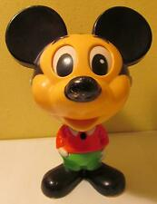 1976 Talking Mickey Mouse Pull String Toy, Mattel, Working