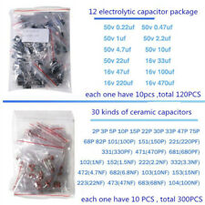 Electronic Components Led Diode Transistor Capacitors Resistance Kits Hot Sales