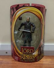 TOY BIZ LOTR THE TWO TOWERS MIB KING THEODEN IN ARMOR FIGURE