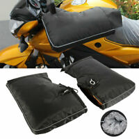 Winter Motorcycle Motorbike Scooter Gloves Oxford Handlebar Grip Muffs Warmer