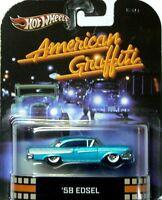 New Hot Wheels 1:64 Scale Retro Car Models - The '58 EDSEL - American Graffiti
