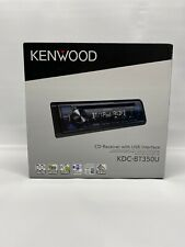 Kenwood KDC-BT350U Single-DIN In-Dash CD Receiver with Bluetooth Ready