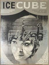 2008 Ice Cube - Portland Silkscreen Concert Poster Signed by Joanna Wecht