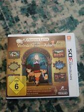 Professor Layton und das Vermächtnis von Aslant (Nintendo 3DS, 2013, Keep Case)