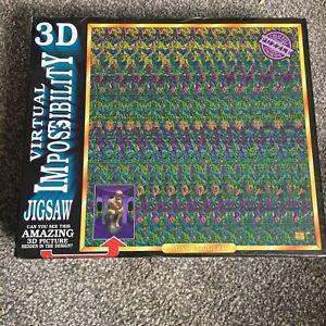 3D Virtual Impossibility Magic Eye 768 Piece Jigsaw Puzzle Mind Boggler Sealed