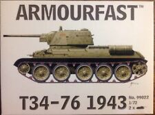 Armourfast T34/76 Mod. 1943 Tank (Set of 2) (1/72-Scale) # 99022
