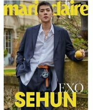 [Marie Claire Magazine] Korea July 2017 EXO Sehun/ Cuttings 12P+Cover, Interview