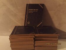Whitman Tri-Fold Blue Folder #9065 Canadian Ten Cent Collection #1--1858-1936