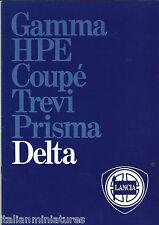 Lancia Delta MINT Original Brochure GT 1600 1300 1500 A