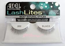 Ardell LASHLITES #335 False Eyelashes Fake Lashes Black Natural Fashion Lashes