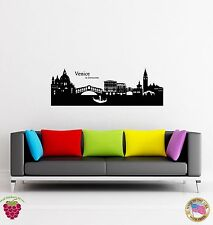 Wall Sticker Venice Italy Europe Travel Coolest Decor For You  z1526