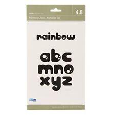 """Quickutz """"4 x 8 RAINBOW Classic Alphabet Set"""""""