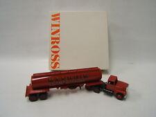 Winross Manheim Fire Department Tanker Truck 1988 Ford 9000 Red Lancaster County