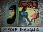 DIABOLIK PRIMA 1° SERIE ORIGINALE N.14 DEL 1964 INGOGLIA MOLTO BUONO