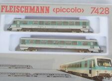 Fleischmann 7428  N Dieseltriebzug BR 628 der DB Epoche 4-6 neuwertig mit OVP