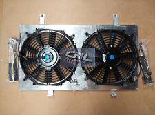 Shroud+Fans NISSAN 200SX S14 S14A S15 SR20DET 2.0L Turbo MT 1993-1999