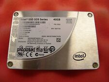 "Intel 40GB 2.5"" SSD  Solid State Drive SSDSA2BT040G3 SATA II 2.5in"