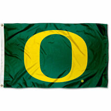 University of Oregon Ducks Flag UO Large 3x5