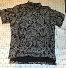 91dd809ef7 Authentic Ralph Lauren Bandana Paisley Shirt Large Polo