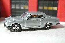 Matchbox '71 Nissan Skyline 2000 GTX - Silver - Loose - 1:64