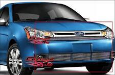 Fits 08-11 2011 Ford Focus Sedan Billet Grille Combo