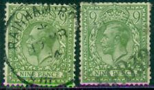 Great Britain Sg-427, Scott # 198, Used, Fine-Very Fine, 2 Stamps, Great Price!