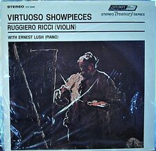 Ruggiero Ricci Virtuoso Showpieces           London Treasury Series