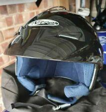 NITRO X523-V casco de cara abierta Talla S Negro Brillante Usado Solo Una Vez