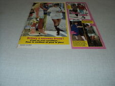 H318 BRITNEY SPEARS SADIE FROST LILY ALLEN AMY WINEHOUSE '2007 FRENCH CLIPPING