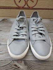 Converse All Star Gray Leather Shoes Men's 9   Women's 11