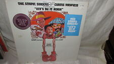 LET'S DO IT AGAIN SOUNDTRACK LP SEALED CURTIS MAYFIELD STAPLE SINGERS