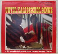 "MENOS DE CARIBE Sonne con HARRY BELAFONTE PEREZ PRADO Xavier Cugat 12"" LP J453"