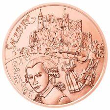 Österreich 10 Euro Salzburg Kupfer 2014 Kupfermünze Österreich aus Kinderhand