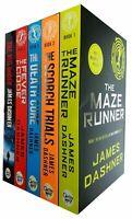 Maze Runner Series James Dashner 5 Books Set Fever Code,Death Cure,Scorch Trials