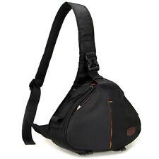 High quality Caseman C10 Black Dslr Camera Bag Triangle Shoulder Case waterpoof