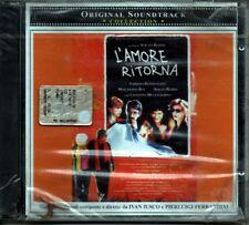 IVAN IUSCO PIERLUIGI FERRADINI  OST L'AMORE RITORNA CD SEALED 2004 ITALY