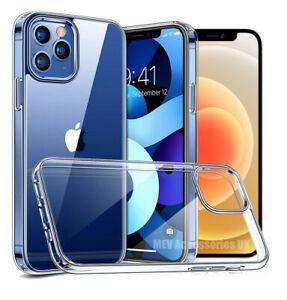 CLEAR Shockproof Case For iPhone 12 11 Pro Max XR SE XS 8 7 6 Mini Silicone EDGE