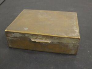 Alte Zigarrenschachtel Box Zigarettenschachtel Schachtel Metallschachtel