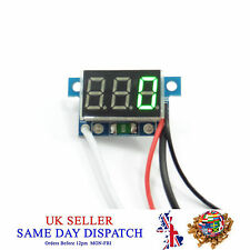 DC 4-30V Mini 0-999mA Digital LED Panel Ammeter Amp Ampere Meter with 4 Wires