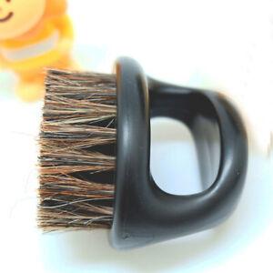 Barber Finger Ring Fade Brush & Beard Brush Practical Brush#dr