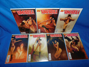DYNAMITE VAMPIRELLA 32 33 34 35 36 37 38 FABIANO NEVES COVER LOT 2013 VF/NM